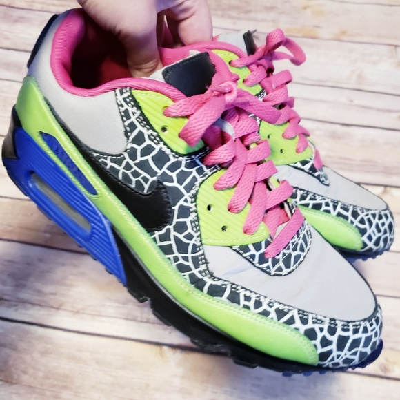 Nike Id air max custom colorful sneakers
